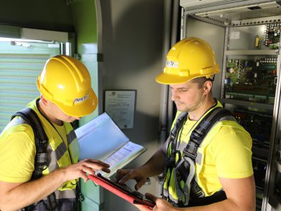 Inspections of turbines
